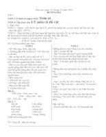 Thứ Sáu, tuần 16: giáo án lớp ghép NTĐ 2 + NTĐ 4