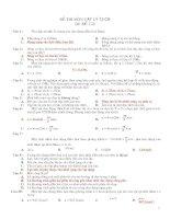 Kiểm tra 45 phút- 12CB-chương 1&2