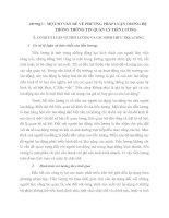 MỘT SỐ VẤN ĐỀ VỀ PHƯƠNG PHÁP LUẬN TRONG HỆ  THỐNG THÔNG TIN QUẢN LÝ TIỀN LƯƠNG