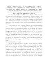 BÀI HỌC KINH NGHIỆM VÀ VIỆC HOÀN THIỆN CÔNG TÁC KIỂM TOÁN CHU TRÌNH HÀNG TỒN KHO TRONG KIỂM TOÁN CÁO TÀI CHÍNH DO CÔNG TY KIỂM TOÁN VÀ KẾ TOÁN HÀ NỘI THỰC HIỆN