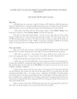 HƯỚNG DẪN CÀI ĐẶT HỆ THỐNG MẠNG BOOTROM WINXP VỚI PHẦN MỀM BXP2.5