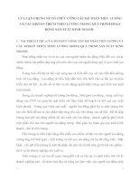 LÝ LUẬN CHUNG VỀ TỔ CHỨC CÔNG TÁC KẾ TOÁN TIỀN  LƯƠNG VÀ CÁC KHOẢN TRÍCH THEO LƯƠNG TRONG QUÁ TRÌNH HOẠT ĐỘNG SẢN XUẤT KINH DOANH