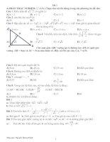 19 đề kiểm tra học kỳ I toán 9