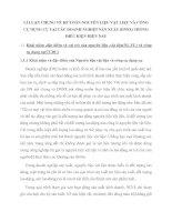 LÍ LUẬN CHUNG VỀ KẾ TOÁN NGUYÊN LIỆU VẬT LIỆU VÀ CÔNG CỤ DỤNG CỤ TẠI CÁC DOANH NGHIỆP SẢN XUẤT (DNSX) TRONG ĐIỀU KIỆN HIỆN NAY