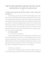 MỘT SỐ Ý KIẾN NHẰM HOÀN THIỆN KẾ TOÁN TIÊU THỤ SẢN PHẨM Ở CÔNG TY CỔ PHẦN CỒN RƯỢU HÀ NỘI