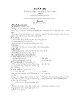 giáo án lớp 1 tuần 26-31 chuẩn
