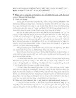 PHƯƠNG HƯỚNG HOÀN THIỆN KẾ TOÁN TIÊU THỤ VÀ XÁC ĐỊNH KẾT QUẢ KINH DOANH Ở CÔNG TY THƯƠNG MẠI ĐOÀN KẾT