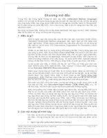 can ban ve XML.pdf - Chương mở đầu