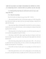 MỘT SỐ GIẢI PHÁP CẢI THIỆN TÌNH HÌNH TÀI CHÍNH CỦA CÔNG TY TNHH NHÀ NƯỚC 1 THÀNH VIÊN CỦA GIỐNG GIA SÚC HÀ NỘI