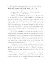 GIẢI PHÁP TĂNG CƯỜNG HUY ĐỘNG VỐN CỦA CÔNG TY CỔ PHẦN TRÊN THỊ TRƯỜNG CHỨNG KHOÁN VIỆT NAM