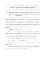 GIẢI PHÁP MỞ RỘNG VÀ PHÁT TRIỂN DỊCH VỤ NGÂN HÀNG TẠI SỞ GIAO DỊCH NGÂN HÀNG CÔNG THƯƠNG VIỆT NAM