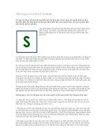 Chữ S trong từ L.E.A.D.E.R.S: Tự lãnh đạo