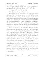 MỘT SỐ GIẢI PHÁP ĐẨY MẠNH HOẠT ĐỘNG MARKETING-MIX TẠI CÔNG TY CỔ PHẦN GẠCH ỐP LÁT THÁI BÌNH