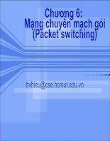 Mạng chuyển mạch gói (Packet switching)