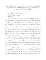 THẮNG LỢI VÀ KINH NGHIỆM LÃNH ĐẠO KẾT HỢP SỨC MẠNH DÂN TỘC VỚI SỨC MẠNH THỜI ĐẠI TRONG CUỘC KHÁNG CHIẾN CHỐNG MỸ TỪ 1965 ĐẾN 1973