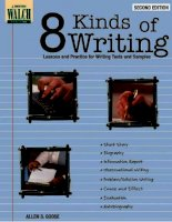 8 kinds of writing share book part 1