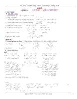 Đề cương ôn tập toán 9 do tổ bộ môn khu ba tổng 2 huyện yên dũng biên soạn