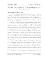 GIẢI PHÁP NÂNG CAO ĐỘNG LỰC LÀM VIỆC CHO NGƯỜI LAO ĐỘNG TẠI CÔNG TY