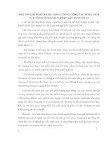 MỘT SỐ GIẢI PHÁP NHẰM TĂNG CƯỜNG CÔNG TÁC PHÂN TÍCH TÀI CHÍNH Ở DOANH NGHIỆP XÂY DỰNG SỐ 34