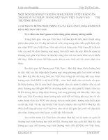 MỘT SỐ GIẢI PHÁP VÀ KIẾN NGHỊ NHẰM VƯỢT RÀO CẢN TRONG XUẤT KHẨU HÀNG DỆT MAY VIỆT NAM VÀO        THỊ TRƯỜNG HOA KỲ