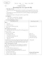 Tự Nhiên Xã Hội: Tuần 1-10