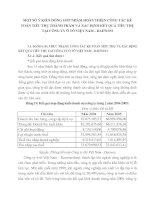 MỘT SỐ Ý KIẾN ĐÓNG GÓP NHẰM HOÀN THIỆN CÔNG TÁC KẾ TOÁN TIÊU THỤ THÀNH PHẨM VÀ XÁC ĐỊNH KẾT QUẢ TIÊU THỤ TẠI CÔNG TY Ô TÔ VIỆT NAM