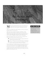MySQL Administrator''''s Bible- P15