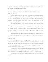 MỘT SỐ GIẢI PHÁP HOÀN THIỆN CÔNG TÁC ĐÀO TẠO NHÂN LỰC TẠI CÔNG TY THUỐC LÁ BẮC SƠN