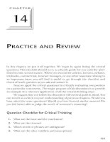 PRACTICE AND REVIEW