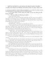 NHỮNG VẤN ĐỀ LÍ LUẬN CHUNG VỀ CHẤT LƯỢNG VÀCHẤT LƯỢNG SẢN PHẨM ÁO PHÔNG TẠI TỔNG CÔNG TY MAY VIỆT NAM
