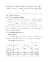 Thực trạng hoạt động thanh toán quốc tế bằng Phương thức tín dụng chứng từ tại Vietcombank Vĩnh Phúc