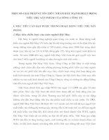 MỘT SỐ GIẢI PHÁP VỀ TỔ CHỨC NHẰM ĐẨY MẠNH HOẠT ĐỘNG TIÊU THỤ SẢN PHẨM CỦA TỔNG CÔNG TY