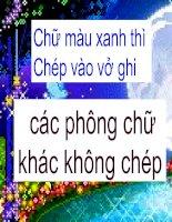 tiet 30 - phuong trinh bac nhat hai an