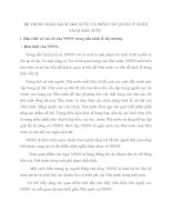 HỆ THỐNG NGÂN SÁCH NHÀ NƯỚC VÀ PHÂN CẤP QUẢN LÝ NGÂN SÁCH NHÀ NƯỚC