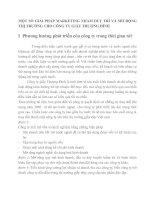 MỘT SỐ GIẢI PHÁP MARKETING NHẰM DUY TRÌ VÀ MỞ RỘNG THỊ TRƯỜNG CHO CÔNG TY GIẦY THƯỢNG ĐÌNH