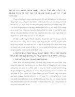 NHỮNG GIẢI PHÁP NHẰM HOÀN THIỆN CÔNG TÁC CÔNG TÁC THANH TOÁN BÙ TRỪ TẠI CHI NHÁNH NGÂN HÀNG NO  PTNT LÁNG HẠ