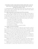 GIẢI PHÁP VÀ KIẾN NGHỊ NHẰM MỞ RỘNG HÌNH THỨC CHO VAY TIÊU DÙNG TẠI NGÂN HÀNG CÔNG THƯƠNG VIỆT NAM CHI NHÁNH NAM THĂNG LONG