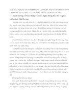 GIẢI PHÁP QUẢN LÝ NHẰM NÂNG CAO KHẢ NĂNG HUY ĐỘNG VỐN TẠI NGÂN HÀNG ĐẦU TƯ VÀ PHÁT TRIỂN TỈNH HẢI DƯƠNG