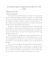 CƠ SỞ KHOA HỌC CỦA ĐỊNH GIÁ BẤT ĐỘNG SẢN THẾ CHẤP