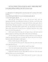 SỰ CẦN THIẾT KHÁCH QUAN PHÁT TRIỂN ĐỘI NGŨ CÁN BỘ, CÔNG CHỨC CÁC XÃ VÙNG CAO