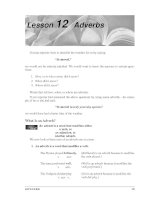 Grammar And Usage For Better Writing - Adverbs