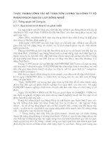 THỰC TRẠNG CÔNG TÁC KẾ TOÁN TIỀN LƯƠNG TẠI CÔNG TY CỔ PHẦN KHÁCH SẠN DU LỊCH SÔNG NHUỆ