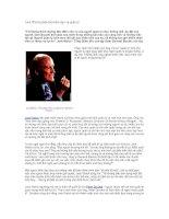 Jack Welch phân biệt lãnh đạo và quản lý