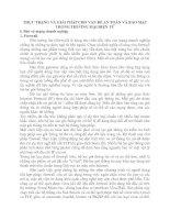 THỰC TRẠNG VÀ GIẢI PHÁP CHO VẤN ĐỂ AN TOÀN VÀ BẢO MẬT TRONG THƯƠNG MẠI ĐIỆN TỬ