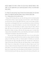 HOÀN THIỆN TỔ CHỨC CÔNG TÁC KẾ TOÁN THÀNH PHẨM  TIÊU THỤ VÀ XÁC ĐỊNH KẾT QUẢ KINH DOANH Ở CÔNG TY BÁNH KẸO HẢI CHÂU