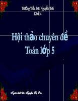 chuyen de toan 5