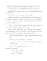 PHÂN TÍCH THỰC TRẠNG TÌNH HÌNH TÀI CHÍNH CỦA  CÔNG TY TNHH NHÀ NƯỚC 1 THÀNH VIÊN GIỐNG GIA SÚC HÀ NỘI