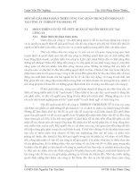 MỘT SỐ GIẢI PHÁP HOÀN THIỆN CÔNG TÁC QUẢN TRỊ NGUỒN NHÂN LỰC TẠI CÔNG TY TNHH DV TM HOÀNG VŨ