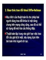 Giao thức trao đổ khóa Diffie-Hellman