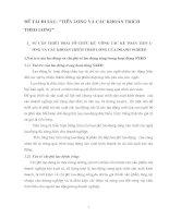 ĐỀ TÀI ĐI SÂU TIỀN LƯƠNG VÀ CÁC KHOẢN TRICH THEO LƯƠNG